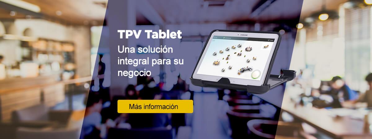 TPV TABLET - La mejor herramienta para gestionar tu negocio, con un amplio abanico de funcionalidades - Pentínfor